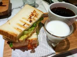 The hub's sandwich set.