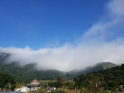 Mist starting to descend = getting colder
