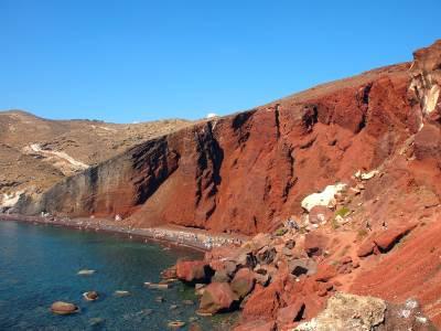 Red beach!